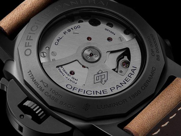 panerai luminor 1950 3 days chrono flyback automatic ceramica replique montre